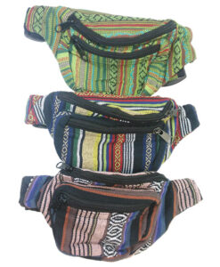 Festival Bum Bag with Gheri Stripes