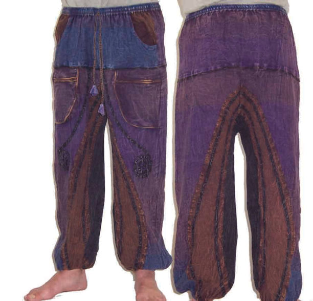 Funky Cotton Hippie Festival Trousers