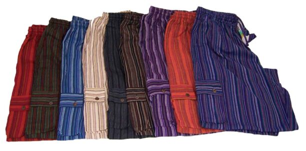 Hippy Trousers with Stripes