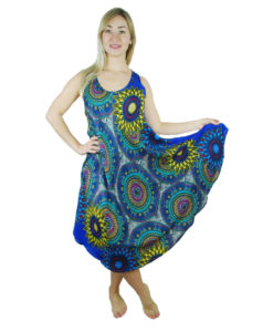Hippy Umbrella Dress with Circles