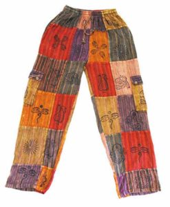 Nepalese Trousers Patchwork