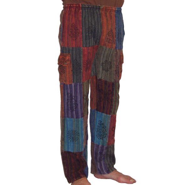 Nepalese Trousers Patchwork sm 1