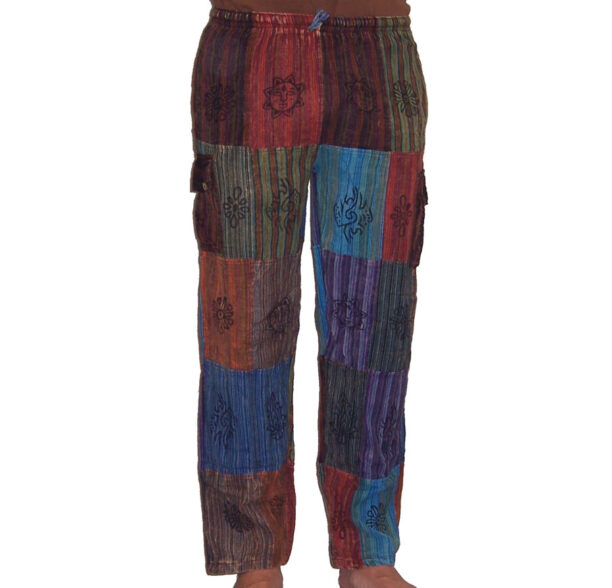 Nepalese Trousers Patchwork sm 2