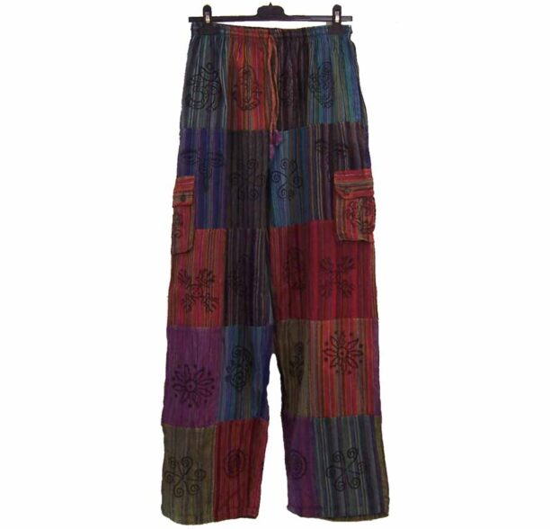 Nepalese Trousers Patchwork xl 1