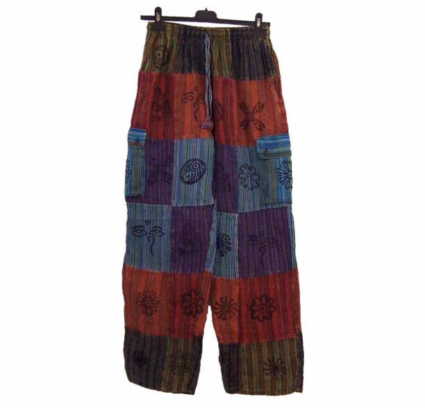 Nepalese Trousers Patchwork xl 2