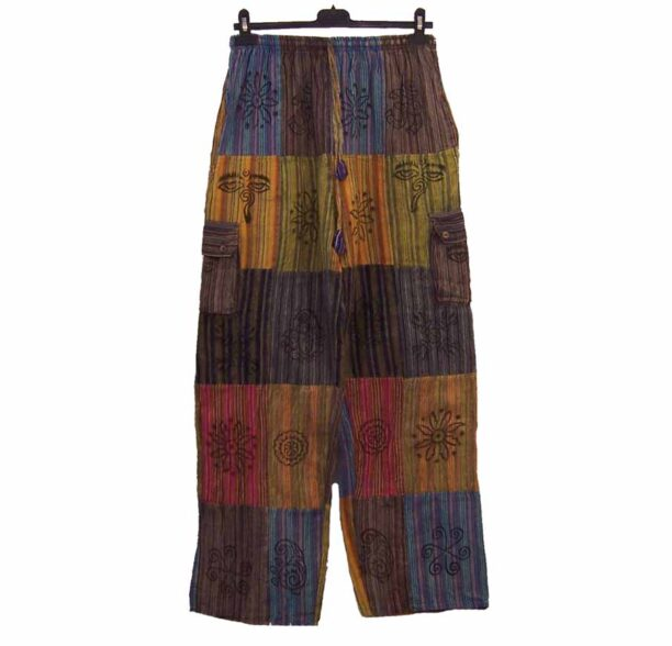 Nepalese Trousers Patchwork xl 3