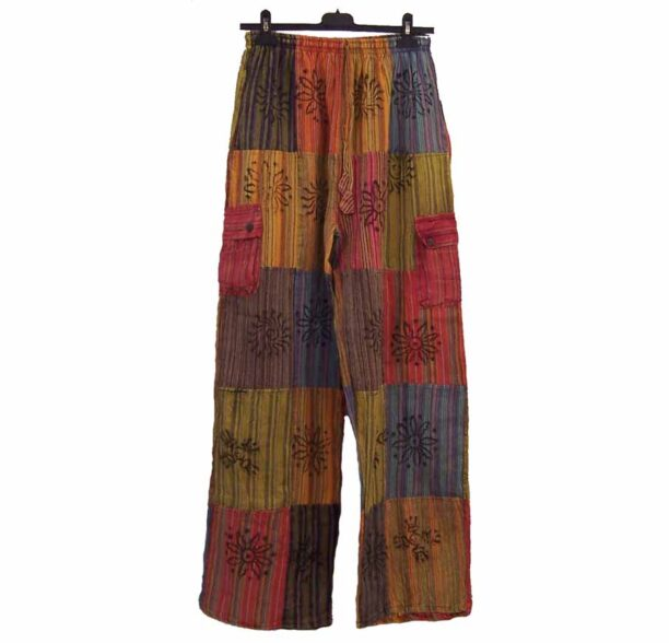 Nepalese Trousers Patchwork xxl 1