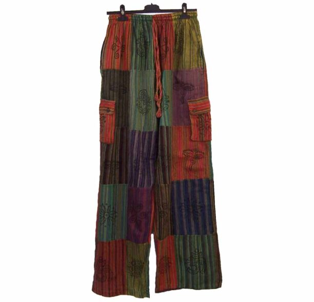 Nepalese Trousers Patchwork xxl 2