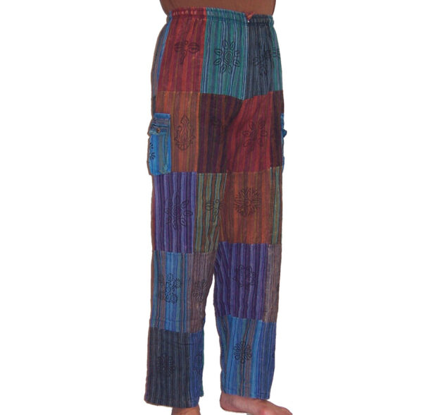 Nepalese Trousers Patchwork xxl 3